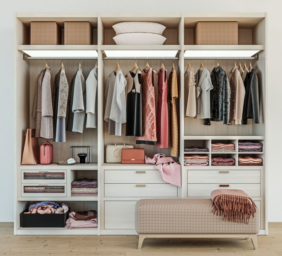Closet Organization by Golden Touch Cleaning LLC