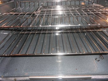 After Deep Cleaning of an oven in Marietta, GA
